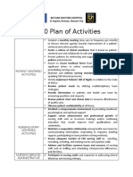 2020 Plan of Activities