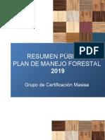 Plan de manejo forestal