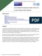 Uso de cloro para la desinfeccion de agua para consumo_ efectos en la salud humana