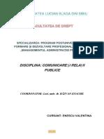 Comunicare Si Relatii Publice Referat