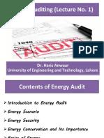 Energy Auditing 1