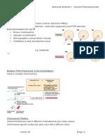 MBII - L28 - Molecular Medicine 1 - Genome Rearrangements