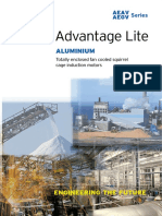 AEAV AEGV Aluminum Frame motor
