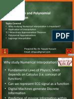 Lec 1 Lagrange Interpolation.pptx