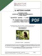 IL METODO KAISER DI ROSINA KAISER SICURO NEL TEMPO DEL CAMBIAMENTO L UOMO LIBERO. QUANTUM - MATRIX - I LIVELLO, BASIC.pdf