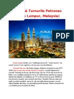 Turnurile Petronas-Kuala Lumpur,Malaysia
