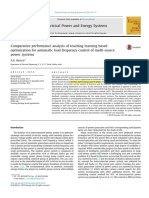 [1] - Comparative Performance Analysis of Teaching Learning Based Optimization for Automatic Load Frequency Control of Multi-source Power System