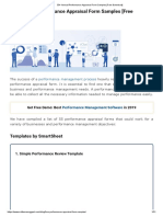 50+ Annual Performance Appraisal Form Samples [Free Download]
