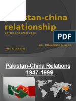 historypakistanandchinarelations1947-1999-140213021421-phpapp01