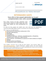 Notice Tiers Payant