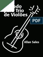 Livro ''Método Para Trio De Violões'' (2019)