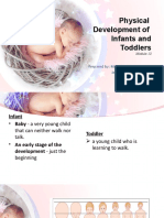 Physical Development of Infants and Toddlers