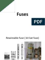Unit-1 Fuses