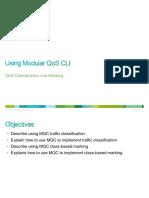2.2 Using Modular QoS CLI