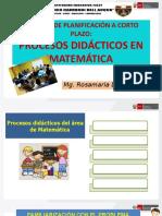 procesos didacticos matematica 2020