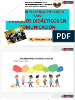 procesos didacticos comunicacion 2020
