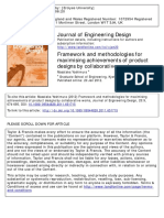 4. Framework and methodologies for maximising achievements of product designs - Yoshimura, 2012