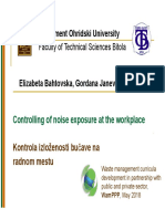 Bahtovska E_Controlling of noise exposure at the workplace