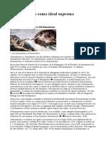El humanismo como ideal supremo Gustavo Bueno
