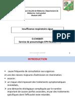 4. Insuffisance respiratoire aiguë (Pr CHABATI)