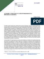 Autonomia y cosificacion Federico Ferme