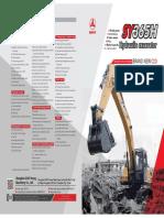 Excavadora SY365H (1)