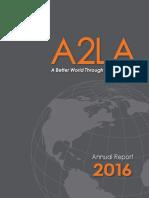 A2LA 2016 Annual Report_Final