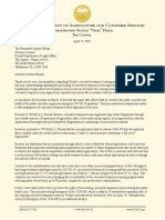 Letter From Fried to Moody Re CWP