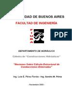 Hidraulica - Calculo Estructural De Tuberias Enterradas - Perez - Uba.pdf