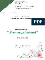Zvon de primăvară-Proiect tematic 2020.doc