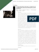 Revista Observaciones Filosóficas - Foucault_ Microfísica del poder y constitución de la subjetividad