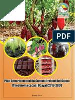 PLAN DEPARTAMENTAL DE COMPETITIVIDAD DEL CACAO UCAYALI 2019 2030