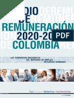 Remuneración salarial Colombia