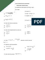 Lista de exercicios de Logaritmo.docx