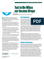 What to Do When Your Income Drops