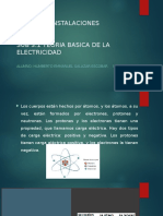 SUB 3.1  TEORIA BASICA DE LA ELECTRICIDAD
