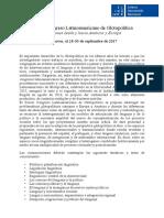 CfP_Tercer_Congreso_Latinoamericano_de_G