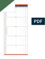 Par Sheet - Printer Version