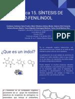 Practica 15. SÍNTESIS DE 2-FENILINDOL