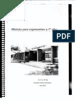 Cuadernillo Ingresantes 1ro Año2020