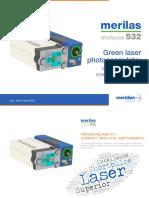 Meridian Merilas 532nm & 577nm Laser Brochure