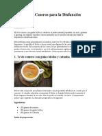 5 Remedios Caseros para la Disfunción eréctil 2020