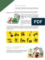seguridad y salud en el trabajo definiciones