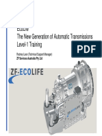 ZF-EcoLife - The New Generation of Automatic Transmissions Level-1 Training