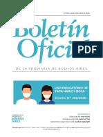 Creación del Fondo de Emergencia Sanitaria en la Provincia de Buenos Aires