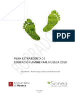 Plan de Educación Ambiental al 2022