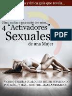 4 Activadores Sexuales
