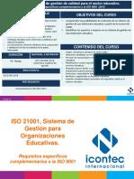 ISO 21001 - RECURSOS