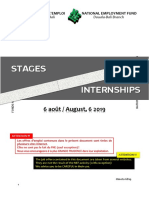 Stages Internet 6 Août 2019
