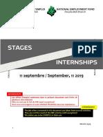 Stages Internet 11 Septembre 2019